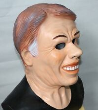 Jimmy Carter MASCHERA morti ex presidenti IN LATTICE HALLOWEEN FANCY DRESS soglia punto