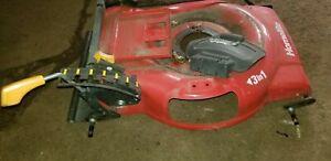 Homelite 24 Volt UT13122 electric push lawn mower DECK FRAME ADJUSTER DEFLECTOR