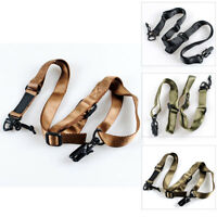New 2 Point Multi-Mission Rifle Sling Adjustable Hunting Protective Shooting
