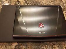 MSI GS43VR Gaming Laptop - Intel i7, GTX 1060 6GB, 16GB RAM, 1TB HDD + 500GB SSD