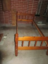 Solid Timber Single bed frame, 100 cm x 202 cm, can be bunk bed if buy two