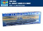 U.S. AIRCRAFT CARRIER CV-8 HORNET 1/350 ship Trumpeter model kit 05601
