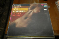 Oliver Nelson Black Brown Beautiful Lp Flying DUtchman 1st NM- super clean