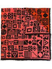 KENZO Symbols Knit Scarf w/ Tag and Gift Box