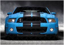 Ford Mustang Shelby A4 JIGSAW Puzzle Birthday Christmas (Can Be Personalised)