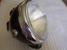 "Lucas 7"" underslung headlight headlamp ssu700P/1 bsa triumph norton ajs enfield"