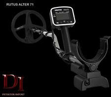 Metalldetektor RUTUS ALTER 71 inkl. 28cm  + 23cm Spule + Funkmodul für Kopfhörer