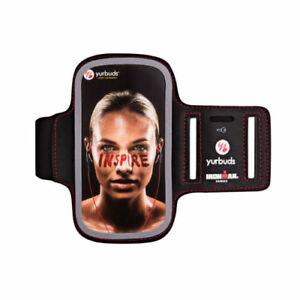 """Yurbuds Ironman Series Sports Cell Phone Armband for 4.5"""" to 4.8"""" Size Phone"""