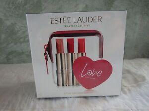 Estee Lauder Pure Color Love 4-Piece Lipstick Set New In Box