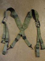 Bretelles de suspension toile pour brelage TAP indochine algérie Armée Française