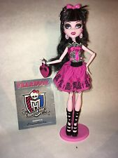 Pre-owned Monster High Draculaura Picture Day