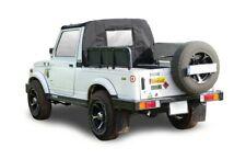 Suzuki Preto Meia Soft Top Teto Para SJ410 SJ413 Samurai Maruti Gypsy King