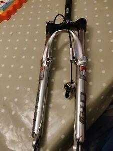 "Rockshox SID World Cup 26"" Lockout Black Box Carbon 100mm Retro Bike Vintage MTB"