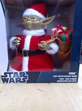 Unique Rare 10.5 Inches Star Wars Yoda Santa w/presents Tree Topper Kurt Adler