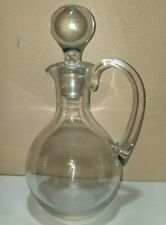 Baccarat Clear Handled Decanter Stopper 10 3/4""
