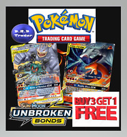 Pokemon SM10 Unbroken Bonds Cards Reverse Holofoil Rare Holo **4 FOR 3**