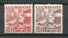Curaçao Luchtpost  12 - 13 postfris (2)