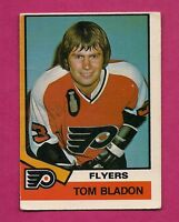 1974-75 OPC # 396  FLYERS TOM BLADON GOOD  ROOKIE CARD (INV# A3137)