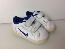 Authentic Nike Court Tradition Plus 2 Infant Sneaker. weiß & blau. sehr guter Zustand. UK 3