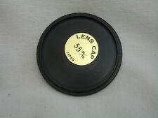 55mm metal front lens cap ,  Japan  #0168 (used)