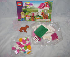 LEGO Belville Set 7583 Playful Puppy - Complete, Instructions, Sealed Bags, Dog