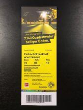 2017/18 – BVB 09 Dortmund / Eintracht Frankfurt – Eintrittskarte Sammlerticket