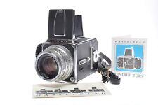 Hasselblad 500C + Carl Zeiss Planar 80 mm f/2,8 Compur + Magazin12