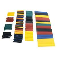 328 Pcs 2:1 Car Electrical Cable Heat Shrink Tube Tubing Wrap Wire Sleeve AU