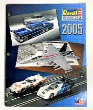 2005 Revell Monogram Model Kits Catalog Cars Plastic Die Cast Metal Body Display