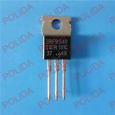 10PCS MOSFET Transistor IR/VISHAY TO-220 IRF9540 IRF9540PBF F9540