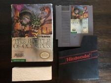 The Battle Of Olympus - Nes ( Nintendo ) Box & Game , No Manual !