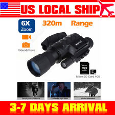 IR Digital Night Vision Monocular Scope Photo Video Telescope DVR Recorder US!