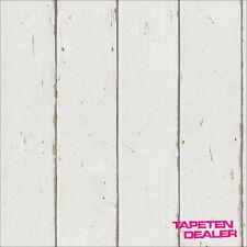 Barbara Becker Tapete Rasch 479638 / Holzoptik Natur Shabby Chic / EUR 2,30/qm