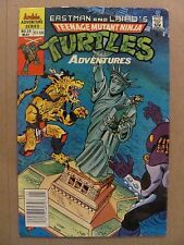 Teenage Mutant Ninja Turtles Adventures #20 Archie Comics 1989 Series Newsstand