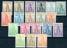 ANGOLA 1932 233-251 * 19 WERTE ohne Unternummern (D9687