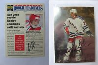1998-99 BaP Signature Series #92 Kovalev Alexei  autograph  rangers