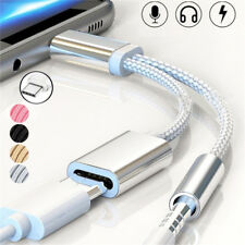 Type-C to 3.5mm Jack Audio Cable USB Charger Earphone Adapter For Huawei P20 Pro