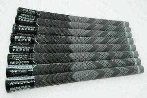 13Pcs Golf Pride MCC Plus 4 Golf Club Grips Standard Midsize Gray Full Set US