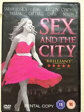 Sarah Jessica Parker Kim Cattrall SEX & THE CITY MOVIE ~2008 Película ~ GB DVD
