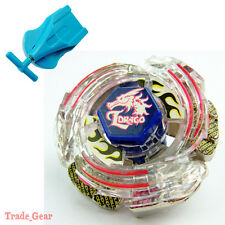 Lightning L-Drago BB-43 Beyblade Metal Masters Fusion+Single spin Launcher
