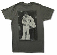 Elvis Presley Big Sleeves Later Image Grey T Shirt New Official