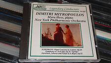 DIMITRI MITROPOULOS MYRA HESS SCHUMANN PIANO CONCERTO SYMPH 1 1951 52 53 AS DISC