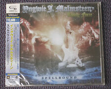 "YNGWIE MALMSTEEN ""SPELLBOUND"" JAPAN SHM-CD+DVD *SEALED*"