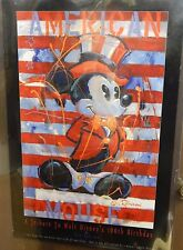 American Mickey Mouse Poster Tribute to Walt Disney 100th Birthday Eric Rodison