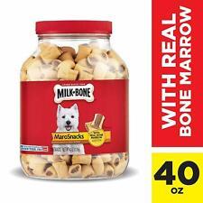 Small Dogs New Milk-Bone Maro Snacks Dog Treats Real Bone Marrow Pet Cat 40 Oz