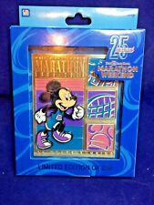Walt Disney World 2018 Marathon Weekend Jumbo Pin Limited Edition of 250