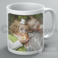 Personalised Photo Mug Your Photo Picture Logo Text Coffee Custom Printed Gift