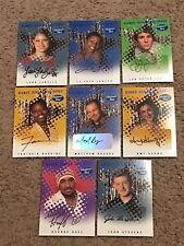 LOT OF (16) CERT SIGNED AUTO & MEMORAIBILA WORN 2004 FLEER AMERICAN IDOL CARDS!