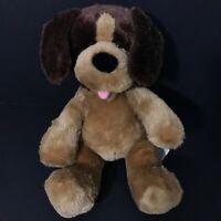 Build a Bear Workshop Plush Brown and Tan Dog Medium Size Stuffed Animal