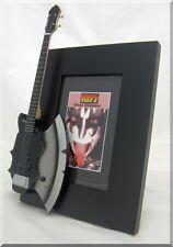 GENE SIMMONS  Miniature Guitar Frame Axe KISS